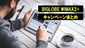 BIGLOBE WiMAX キャンペーン